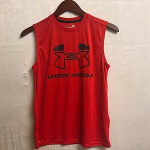Boys Under Armour Workout Tank Top Size Large